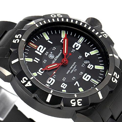 [正規品] スミス&ウェッソン Smith & Wesson スイス トリチウム ミリタリー腕時計 EMISSARY WATCH BLACK SWISS TRITIUM SWW-88-B [あす楽] [ ラッピング無料 送料無料 ]