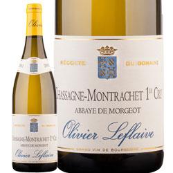 ワイン 白ワイン 2012年 シャサーニュ・モンラッシェ プルミエ・クリュ・アベイ・ド・モルジョ / オリヴィエ・ルフレーヴ フランス ブルゴーニュ / 750ml