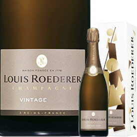 ワイン スパークリング シャンパン 白 発泡 2013年ルイ・ロデレール・ブリュット・ヴィンテージ [ボックス付] / ルイ・ロデレール フランス シャンパーニュ / 750ml