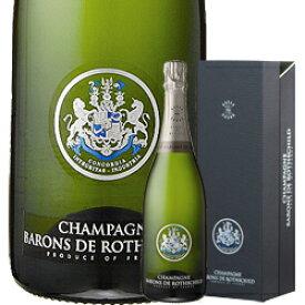 ワイン スパークリング シャンパン バロン・ド・ロスチャイルド・ブラン・ド・ブラン[ボックス付] / シャンパーニュ・バロン・ド・ロスチャイルド フランス シャンパーニュ / 750ml / スパークリング