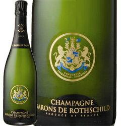 ワイン スパークリング シャンパン 白 発泡 シャンパーニュ・バロン・ド・ロスチャイルド・ブリュット[ボックスなし] / シャンパーニュ・バロン・ド・ロスチャイルド フランス シャンパーニュ / 750ml
