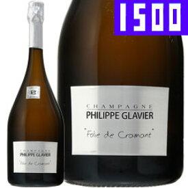 ワイン スパークリング シャンパン 白 発泡 [NV]フォリ・ド・クラマン / フィリップ・グラヴィエ フランス シャンパーニュ / 1500ml