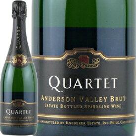 ワイン スパークリング 白 発泡 [NV] カルテット・アンダーソン・ヴァレー・ブリュット / ロデレール・エステート / アメリカ カリフォルニア / 750ml / 発泡 白