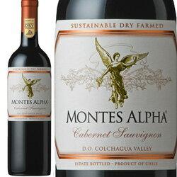 ワイン 赤ワイン 2015年 モンテス・アルファ・カベルネ・ソーヴィニヨン / モンテス S.A. チリ コルチャグア・ヴァレー / 750ml 赤