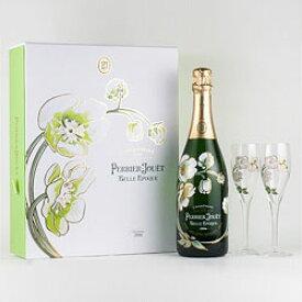 [2008] ペリエ・ジュエ ベル・エポック グラスセット [ボックス付] / ペリエ・ジュエ フランス シャンパーニュ(シャンパン) / 750ml / 発泡・白