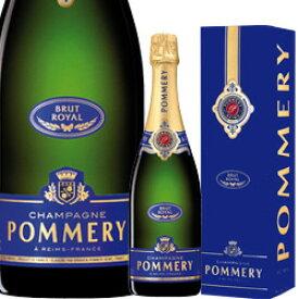 ワイン スパークリング シャンパン 白 発泡 [NV] ポメリー・ブリュット・ロイヤル [ボックス付] / ポメリー フランス シャンパーニュ / 750ml