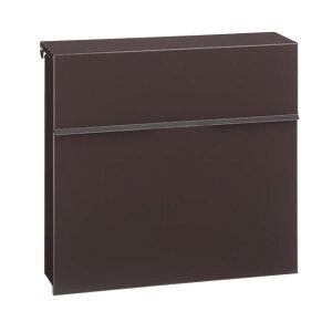 丸三タカギ すっきりフォルムに安心設計 ノルディックワイドポスト ブラウン色 PE-6506