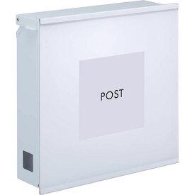 丸三タカギ 郵便ポスト ポスティーレ アクリルタイプ PTA-2 ホワイト色