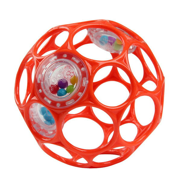 オーボール(oball)オーボール ラトル / レッド【ボール】【ラトル】【赤ちゃん】【ベビー】【がらがら】【ガラガラ】【おもちゃ】【知育玩具】【即納】