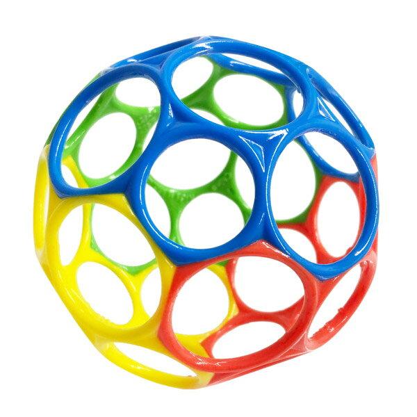 オーボール(Oball)オーボール(グリーン/ブルー/レッド/イエロー)【ボール】【おもちゃ】【知育玩具】