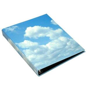 A4 名刺ファイル 4穴 200ポケット スカイ BLUE シンプル 公式通販サイト
