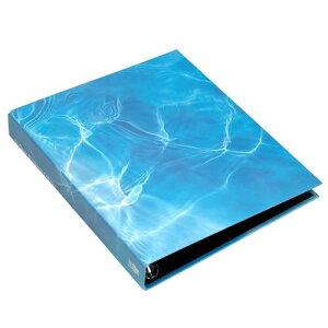 A4 名刺ファイル 4穴 200ポケット ウォーター BLUE シンプル 公式通販サイト