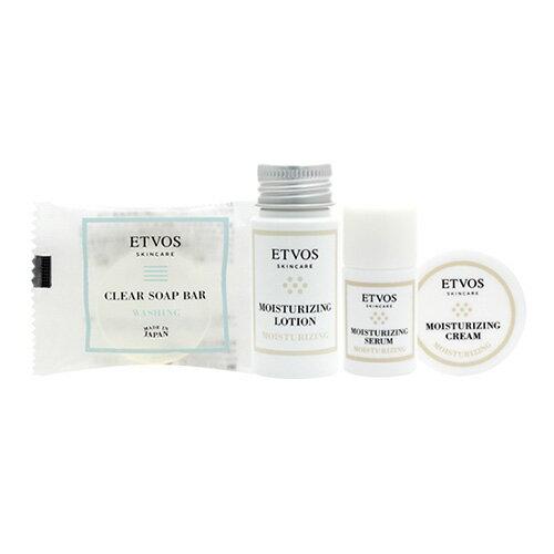 エトヴォス(ETVOS)公式ショップ 【2週間お試し】【送料無料】乾燥肌・敏感肌の方におすすめ「モイスチャーライントラベルセット」【etvos】【未開封のみ8日間返品可】
