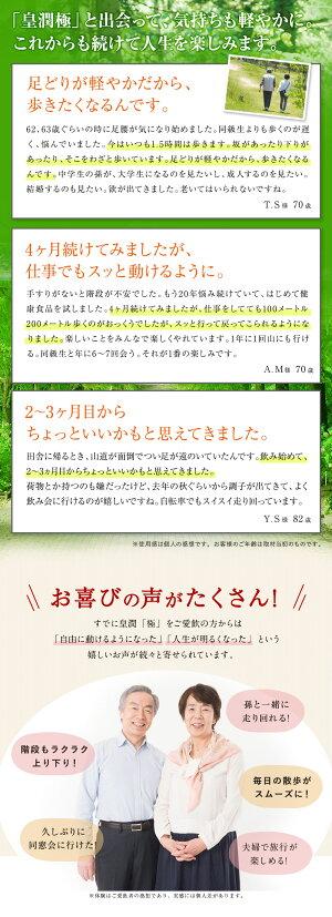 皇潤極(こうじゅんきわみ)6箱セット皇潤ヒアルロン酸コラーゲンサプリメント皇潤エバーライフグルコサミン