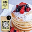 グルテンフリー お菓子 新潟県産 無添加 『ココナッツと米粉で作る グルテンフリー パンケーキミックス 200g×1袋 』…