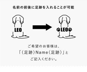 犬服名入れタンクトップデザイン