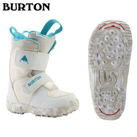 20 BURTON MINIGROM Boots (K・Y) White バートン ミニグロームブーツ メッシュバック付 20Snow 19-20 正規品