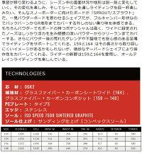 20OGASAKASPROUT1サイズオガサカスプラウトディレクショナルコンベックス20Snowスノーボード19-20