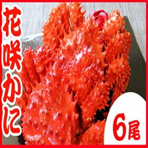 【ふるさと納税】[北海道根室産]花咲かに400g〜500g前後×6尾 C-70031