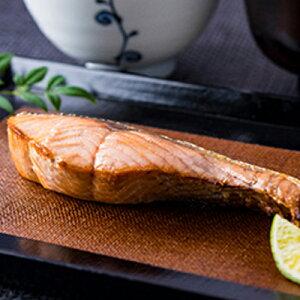【ふるさと納税】北海道礼文島前浜産新巻鮭(切り身姿造り)約2.5kg 1匹お届け! 【魚貝類・サーモン・鮭】