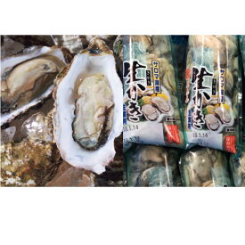 【ふるさと納税】オホーツクサロマ産カキ2年貝殻付き約2.5kg・1年貝むき身200g×2 【魚介類・カキ・牡蠣】 お届け:2020年11月〜2021年2月末まで ※年末年始はお届けできません。出荷不可期間:12月23日〜1月15日