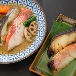 【ふるさと納税】レンジで簡単!閖上海鮮西京漬け&煮魚セット
