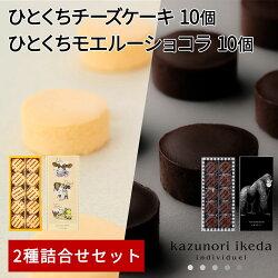 ひとくちサイズ濃厚チーズケーキモエルーショコラチョコレート20個入り