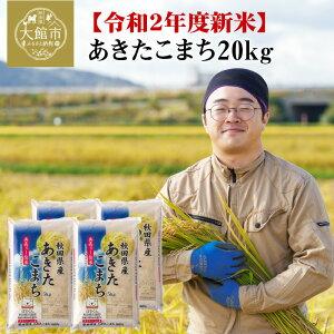 【ふるさと納税】120P9002 【令和2年産新米】秋田県産あきたこまち20kg