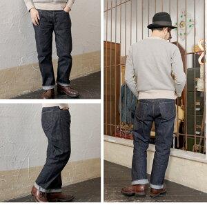 【ふるさと納税】秋田の拘りジーンズ「なまはげジーンズ」赤鬼モデル(レギュラーストレート)34インチ