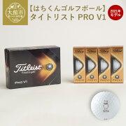 【ふるさと納税】115P7811【はちくんゴルフボール】タイトリストPROV12021年モデル