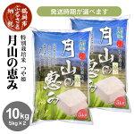 【ふるさと納税】月山の恵みつや姫10kg(5kg×2袋)米工房月山