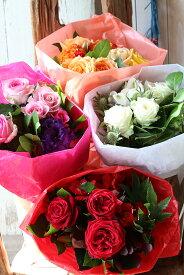 【ふるさと納税】≪年4回定期便≫年4回届く、美しきバラのギフト「色でお届けする四季のバラの花束たち」 お申込み翌月から3ヶ月ごと4回お届け