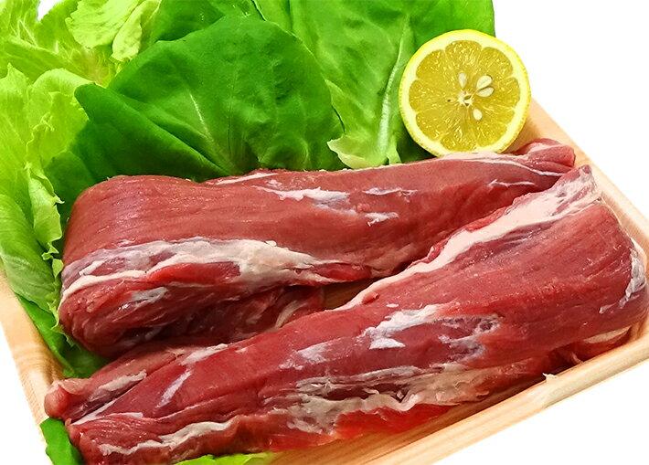 【ふるさと納税】≪冷蔵≫庄内産わんぱくポーク 豚ヒレかたまり2本 約800g ※着日時指定・離島への発送不可