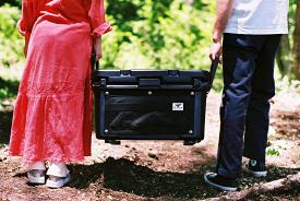 【ふるさと納税】HAKUBA VALLEY OTARI オリジナルクーラーボックス(ブラック)