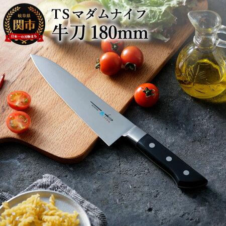 【ふるさと納税】H15-08TSマダムナイフ/口金付きモデル牛刀