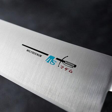 【ふるさと納税】H18-19TSマダムナイフ/口金付きモデル牛刀
