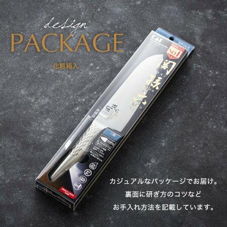 【ふるさと納税】H12-01関孫六オールステンレス「匠創」三徳包丁