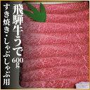 【ふるさと納税】飛騨牛 うで スライス すき焼き しゃぶしゃぶ用 600g 牛肉 和牛 肉 ...