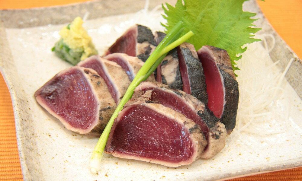 【ふるさと納税】a10-123 大漁!!炭火焼鰹タタキ