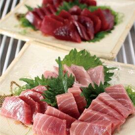 【ふるさと納税】a15-430 マグロ 天然 南鮪 中トロ 赤身 食比べ セット 800g