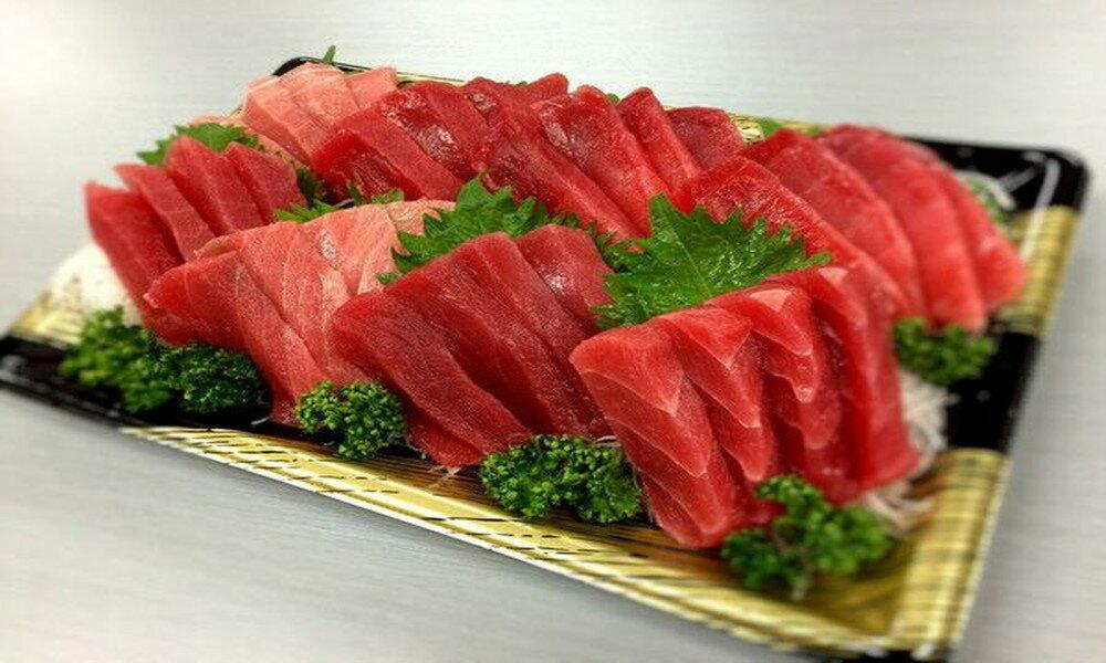 【ふるさと納税】a20-130 静岡県漁連 天然まぐろ中トロ豊漁セット