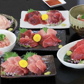 【ふるさと納税】a20-240 南鮪中トロ入り・マルコ水産まぐろ詰め合わせ約1.6kg