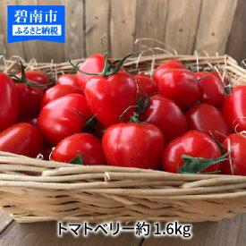 【ふるさと納税】甘さ抜群!!トマト嫌いも食べられるトマトベリー約1.6kg H004-029