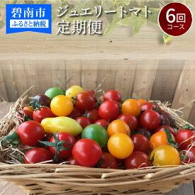 【ふるさと納税】1月〜6月毎月発送 まるでトマトの宝石箱!ジュエリートマトの定期便 6回コース H004-041