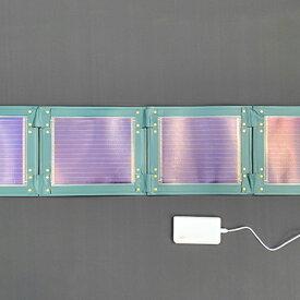 【ふるさと納税】折り畳み式ソーラーパネルと蓄電池【pocketGrid】 【防災グッズ・防災用品・雑貨・日用品】