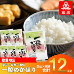 【ふるさと納税】タワラ印一粒のかほり(2kg×6計12kg)
