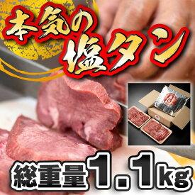 【ふるさと納税】本気の塩たん暴れ盛り 1100g