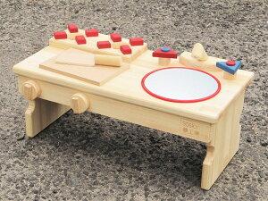【ふるさと納税】手作り木製 ままごとキッチン・RHK-LX