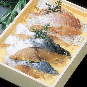 【ふるさと納税】明石産天然鯛・鰆味噌漬け5切れセット 【魚貝類・魚介類・詰め合わせ】