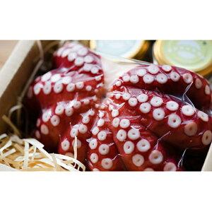 【ふるさと納税】明石だこ丸タコ1kgと4種のディップソースセット 【魚貝類・タコ・魚介類・調味料・たこ・蛸】